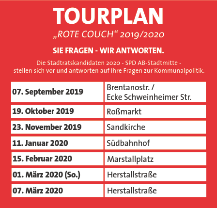 Rote-Couch Tour SPD